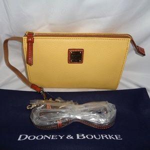 DOONEY & BOURKE JANINE CROSSBODY CLUTCH LEMON